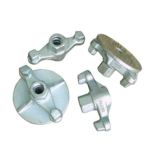 Wing nut and plate nut